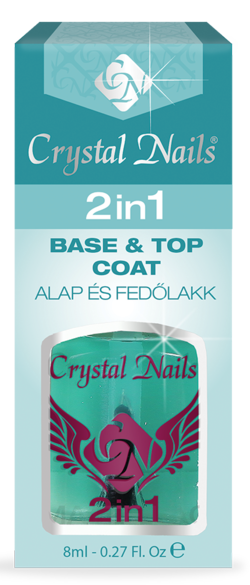 2 IN 1 - Base and top coat in one (8ml)