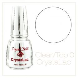 Crystal Nails Gel-Lac ( GL0 ) Clear Top Gel 15ml