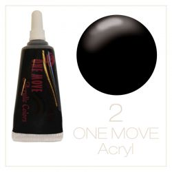 02. One Move Acrylic paint 5ml-Black