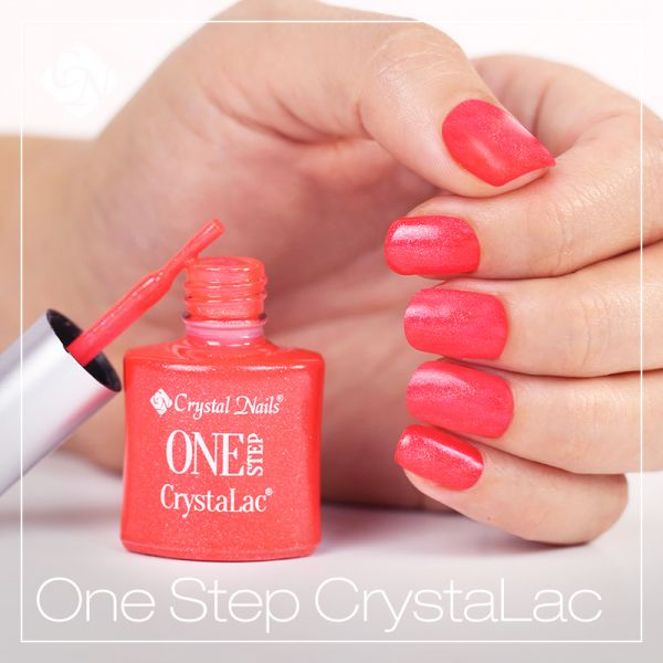 One Step CrystaLac - in matching bottles