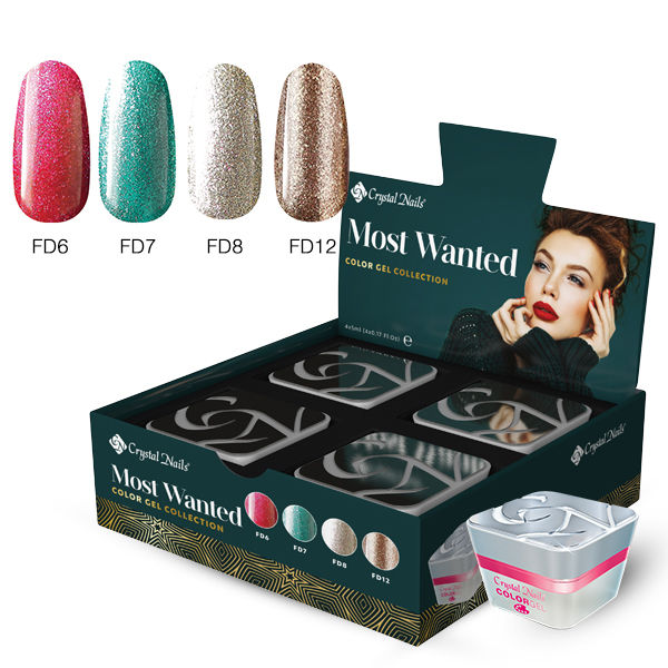 Most Wanted Color Gel Winter Collection 2019 (4x4ml)