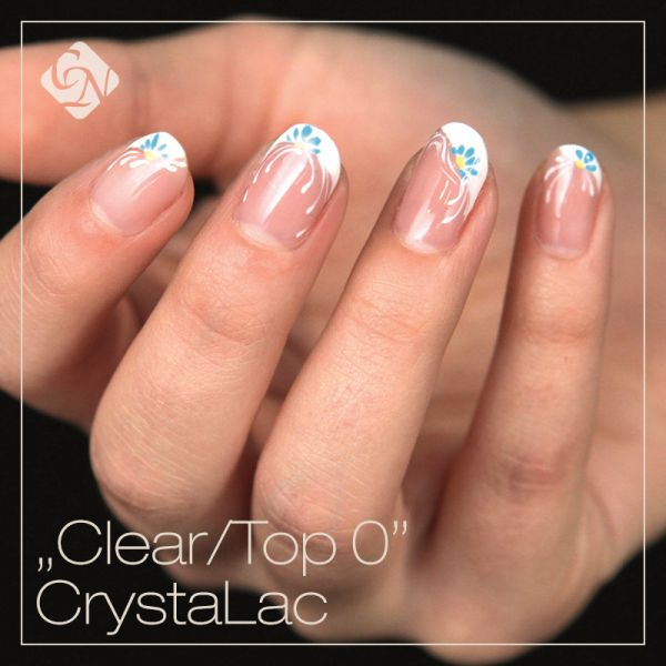 Clear/TOP CrystaLac gel polish