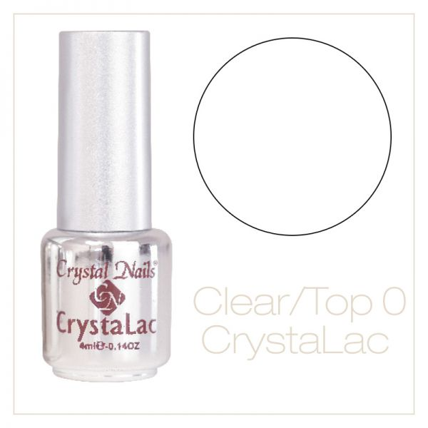 Crystal Nails Gel-Lac ( GL0 ) Clear Top gel 4ml
